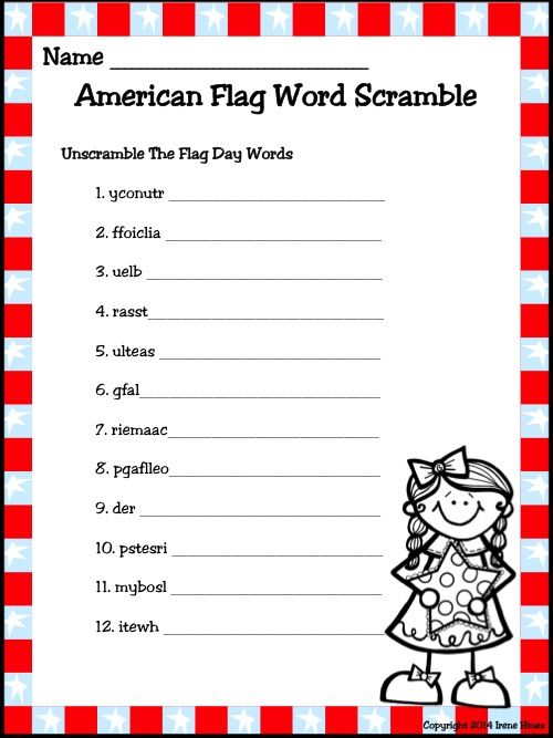 Flag Day Activity Thematic Unit For Primary Grades This Unit Has Been Updated And Is Now 46 Pages Memorial Day Activities Thematic Units American Flag Facts