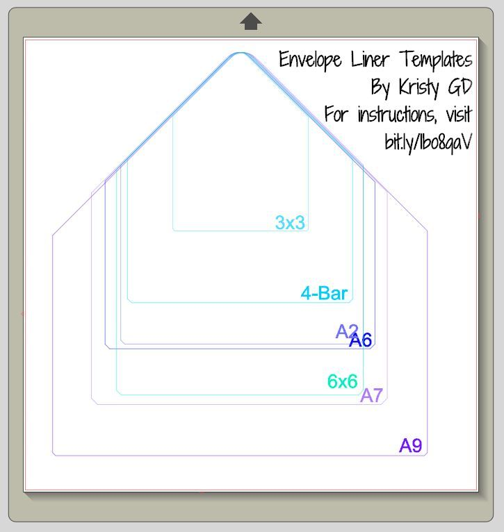 Awesome Cut File To Create Envelope Linings With Your Knk Cutting