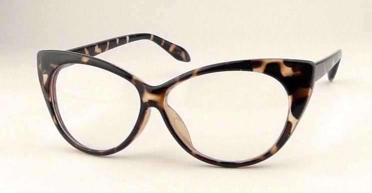 ca1d0706fe226 Cat Eye - Armação Óculos Importada Retrô - Gatinho - R  45
