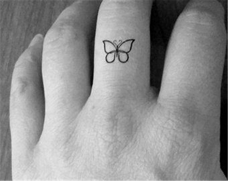 23 Mini Butterfly Tattoos Design - Best Tattoos