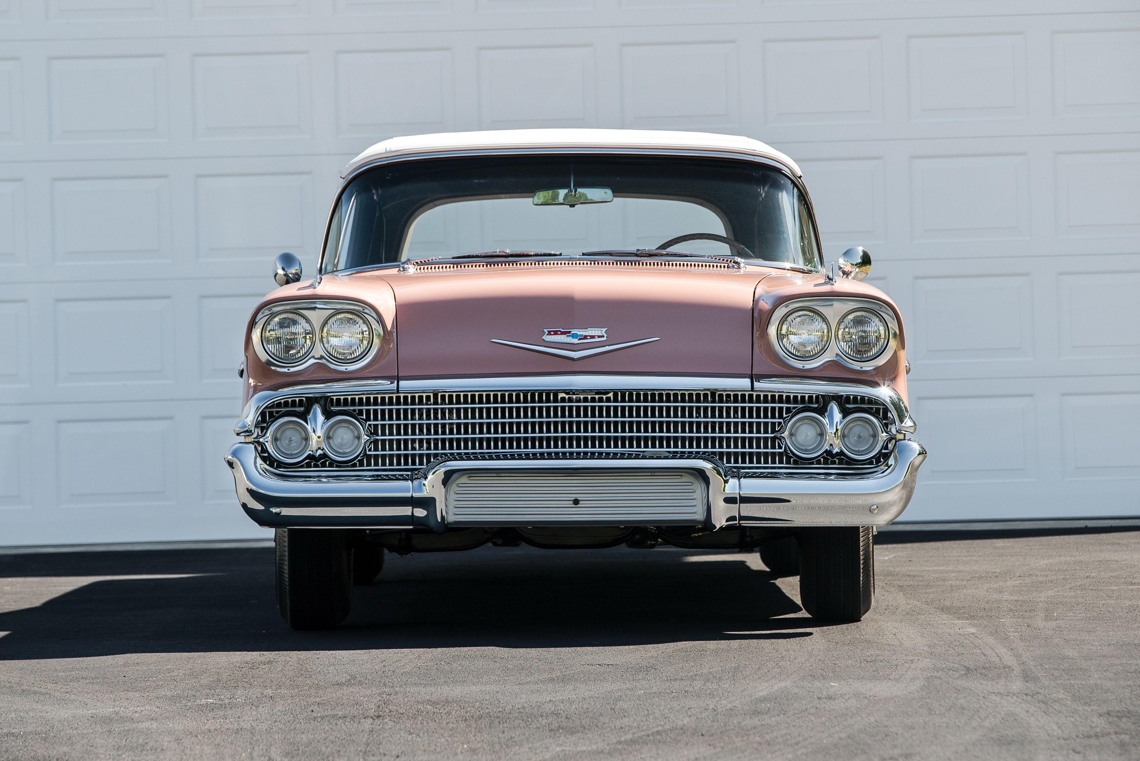 1958 Chevrolet Bel Air Impala 348 Super Turbo Thrust Tri Power