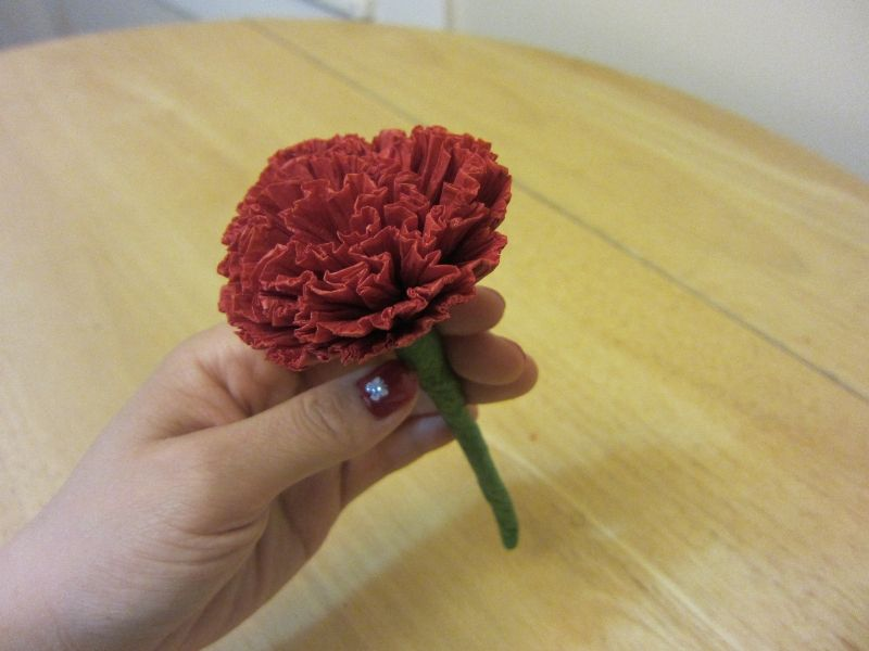 How to make tissue paper flowers origami carnations lesson 14 how to make tissue paper flowers origami carnations lesson 14 useful origami mightylinksfo Images