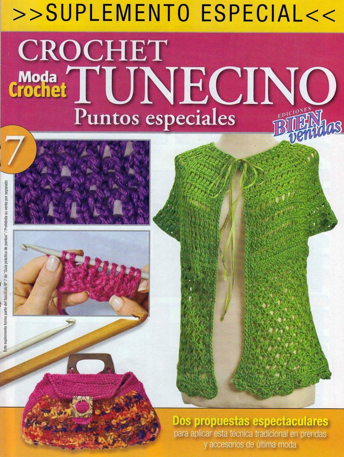 Punto Tunencino Crochet