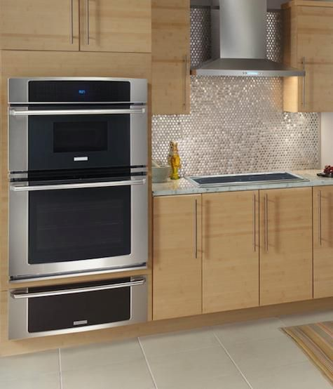 wall oven microwave oven combo