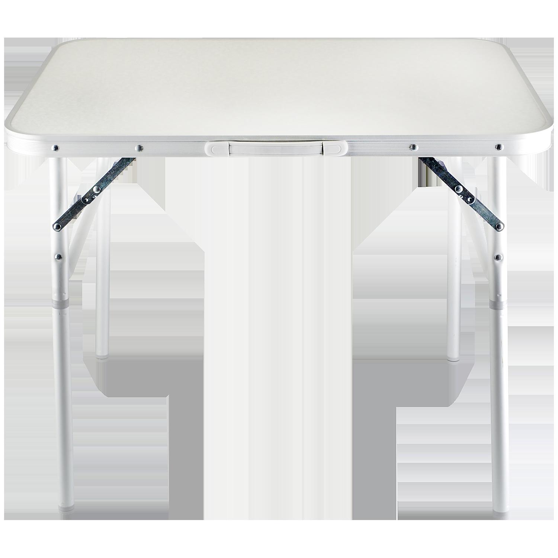14,95 Klappbarer Campingtisch Aluminium, 75 x 55 x 60 cm, leicht in ...