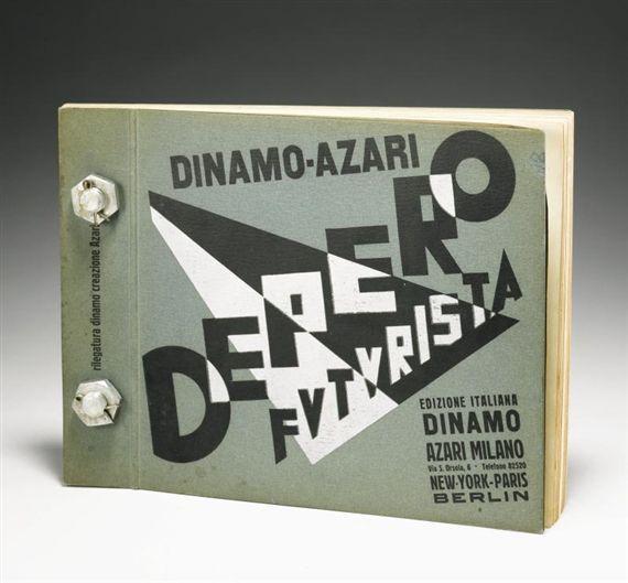 Fortunato Depero - DEPERO FUTURISTA, 1927 Futurisme
