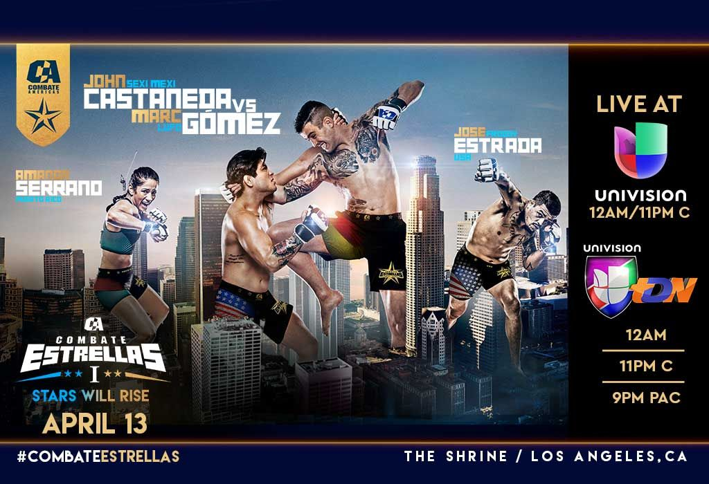 Univision Deportes And Combate Americas Announce Multi Year Live