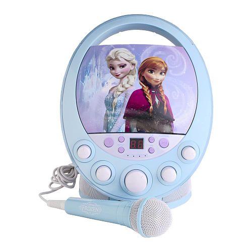 Frozen Toys R Us : Frozen disco dance party cd g karaoke machine with light
