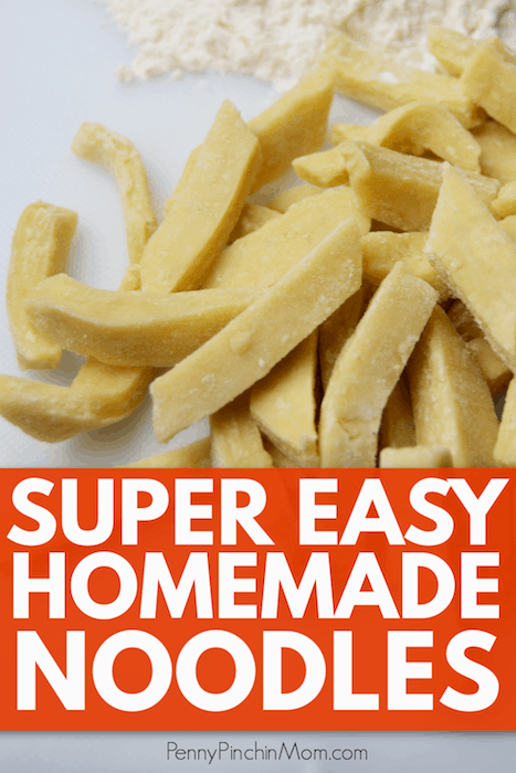 Easy Homemade Noodles | Ready in just five minutes!