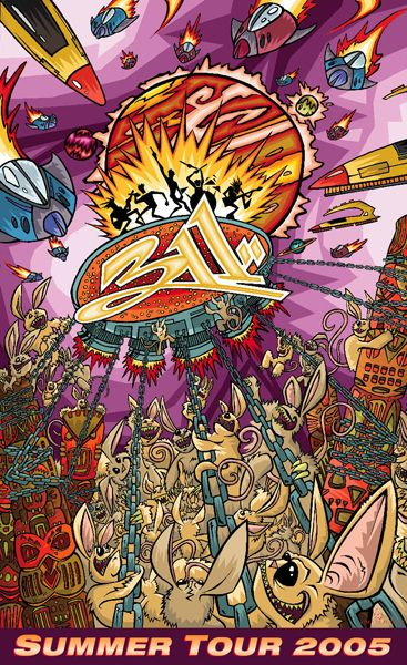 311 Poster by Sean Causley