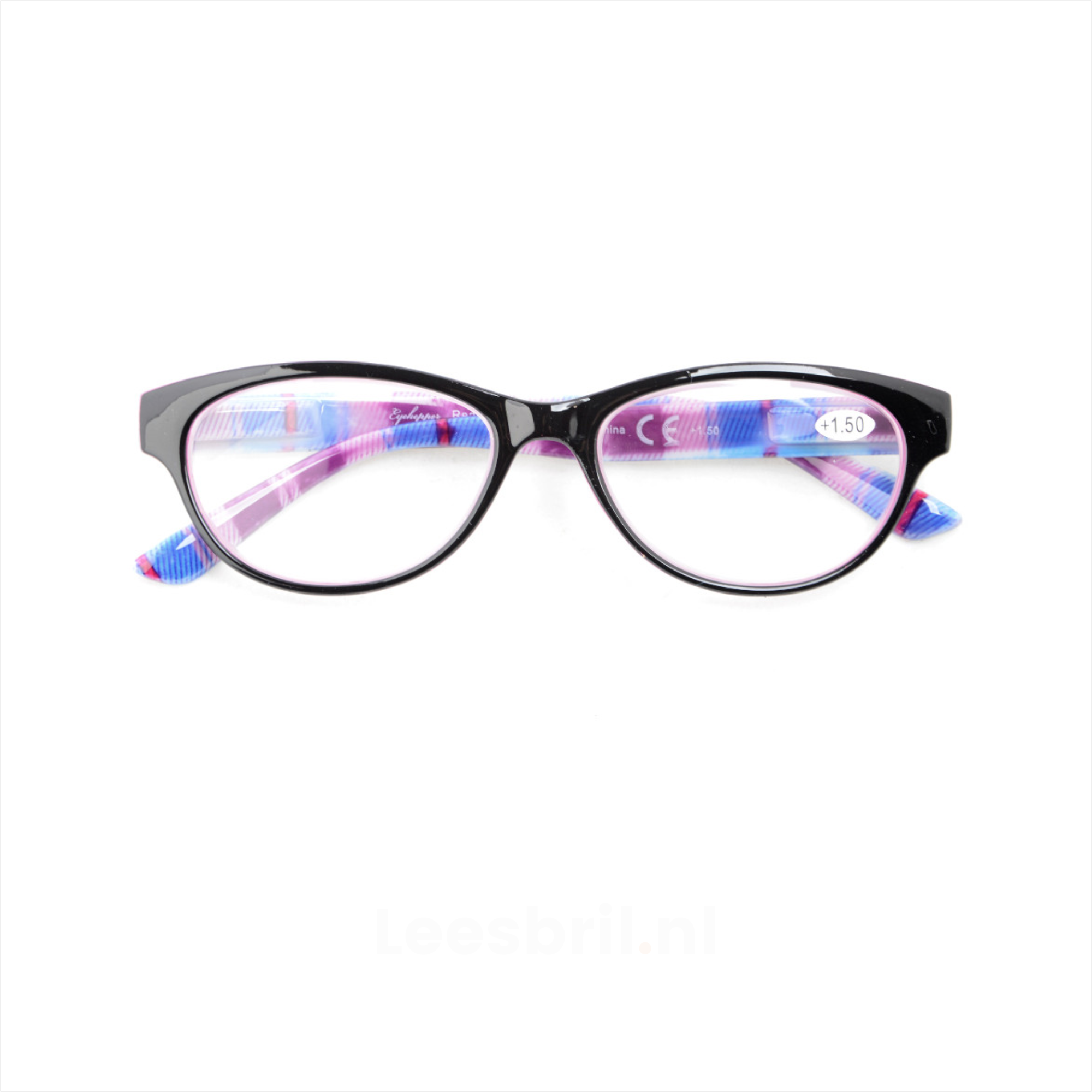 3a41220dee837f Asara. Retro Cat-Eye Dames Leesbril 5 leesbrillen set
