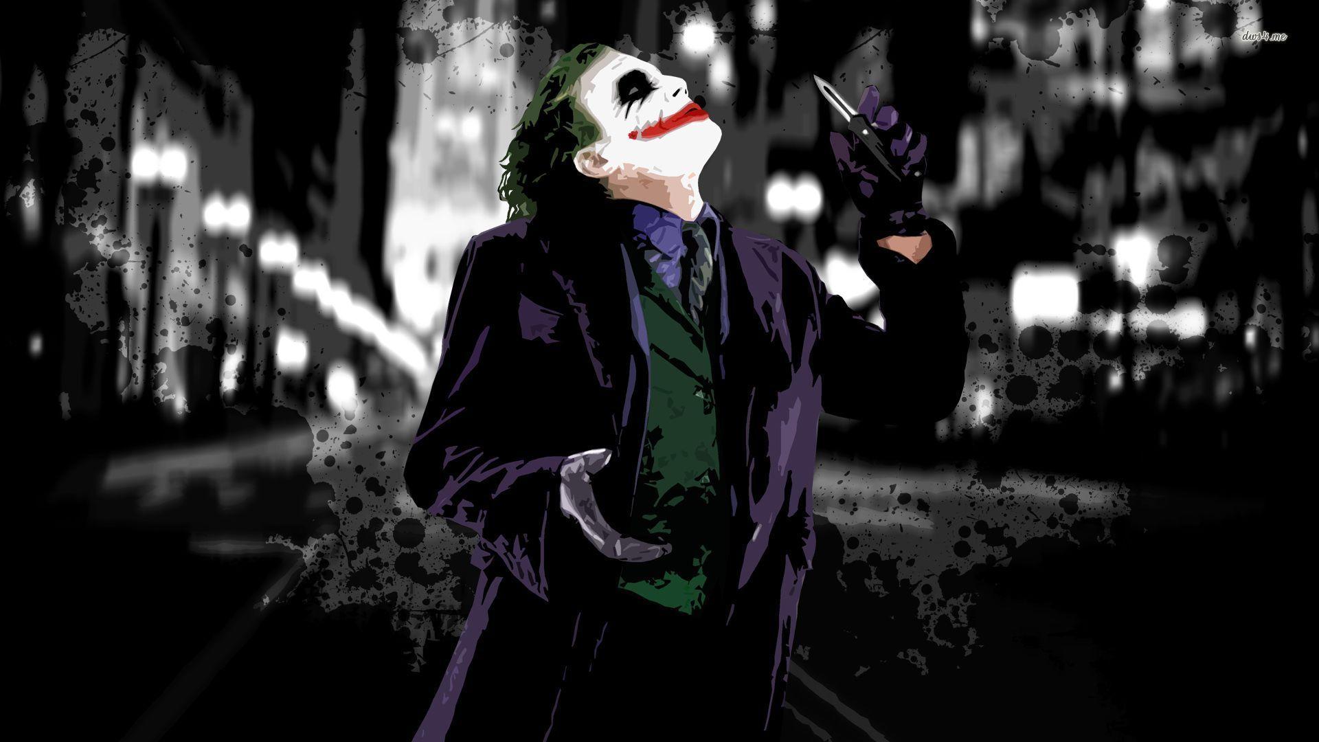 Heath ledger the joker heath ledger the joker for Joker wallpaper 4k