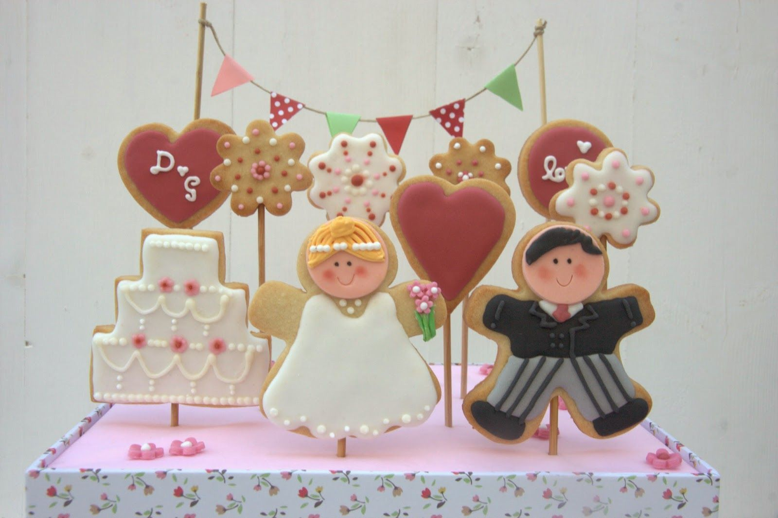 Xocolat and co (con imágenes) Galletas decoradas