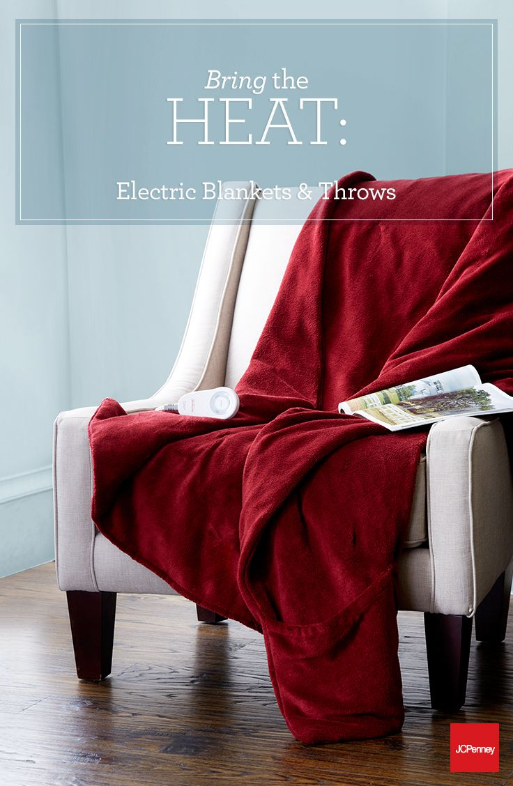 Electric Blankets And Throws Aren T Just For Bedrooms Use A