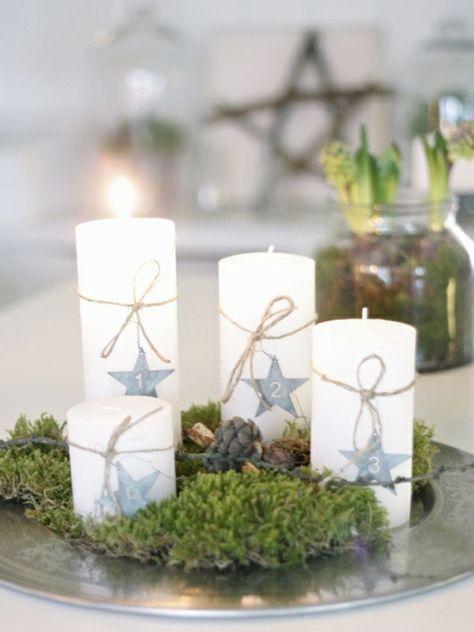 40 Adventskranz Ideen und die Geschichte des Adventskranzes #adventskranzskandinavisch