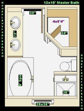 Walk In Shower Dimensions Master Baths 12x10 Back Ideas Design With Walk In Closet Master Bathroom Layout Bathroom Plans Bathroom Layout