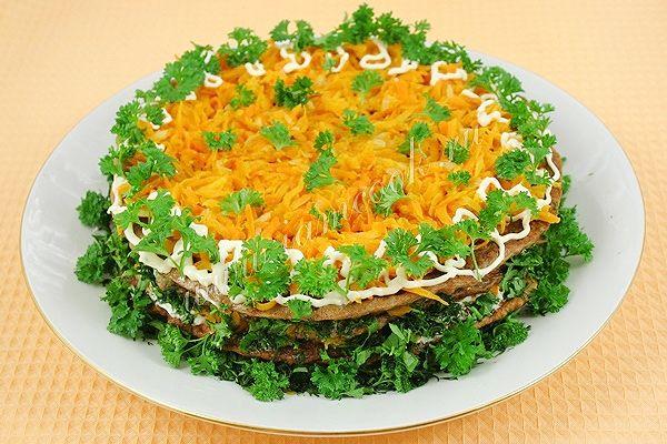 рецепт с фото печеночного торта