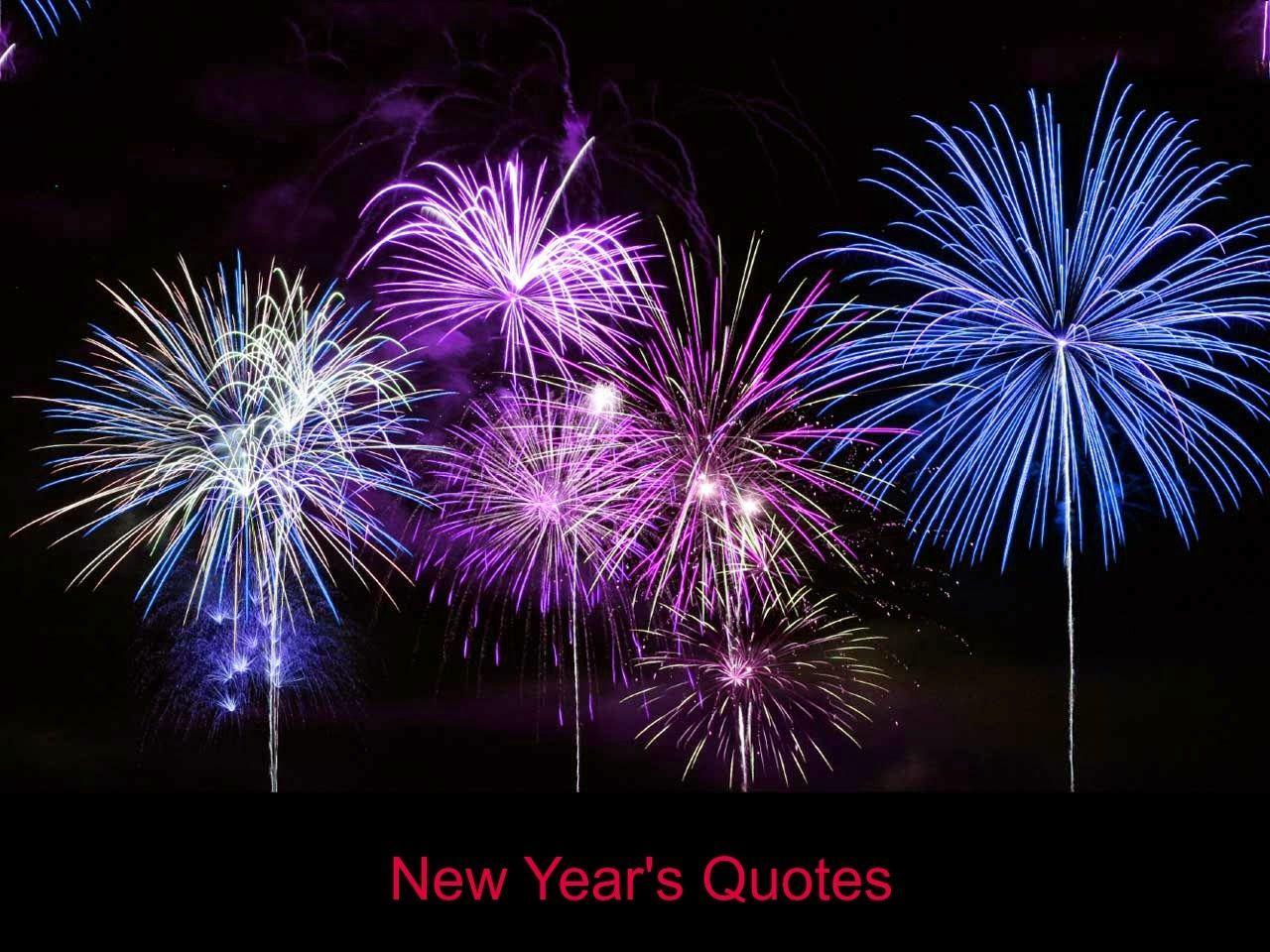 New Year's Quotes Fireworks, Quotes about new year, New