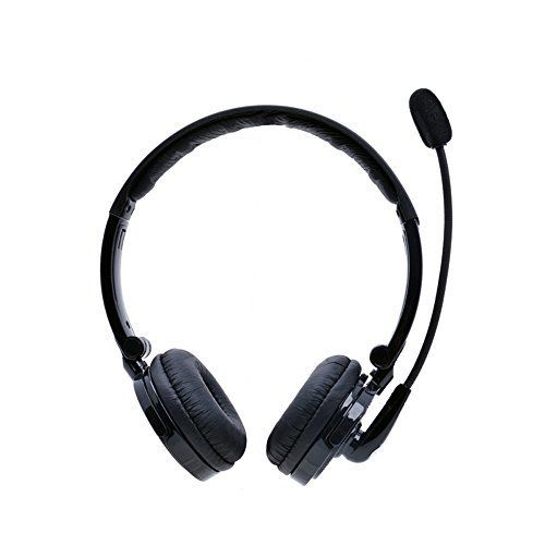 Bluetooth Headset Pashion 2 In 1 Stereo Handsfree Headset Boom Mic Noise Canceling Wireless Bluetooth H Bluetooth Headphones Wireless Bluetooth Headset Headset
