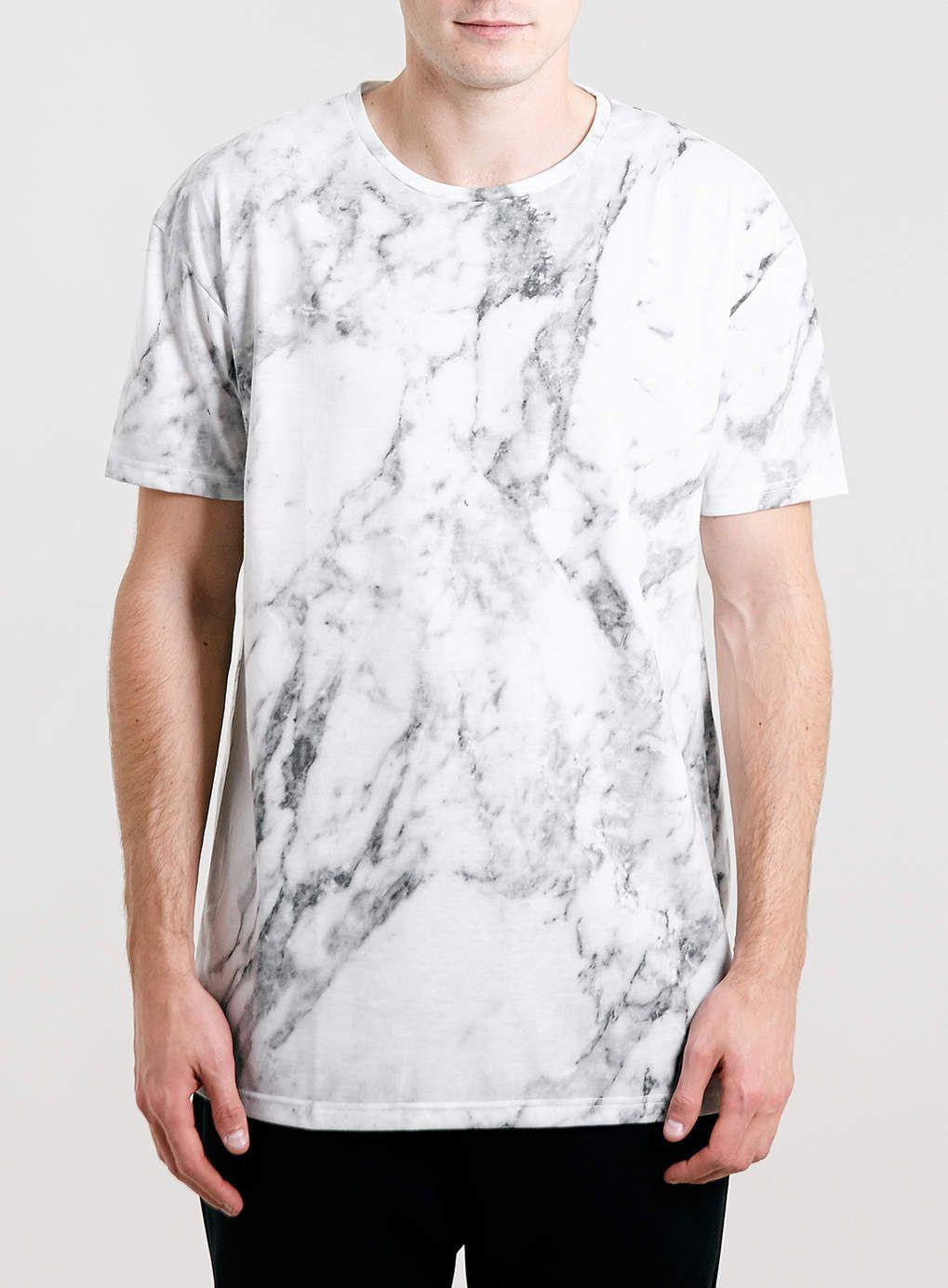 61abbdd84 TOPMAN GREY MARBLE PRINT T-SHIRT | Piggies | Mens tee shirts, Mens ...
