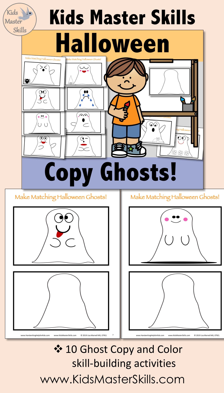 Halloween Ghost Copying