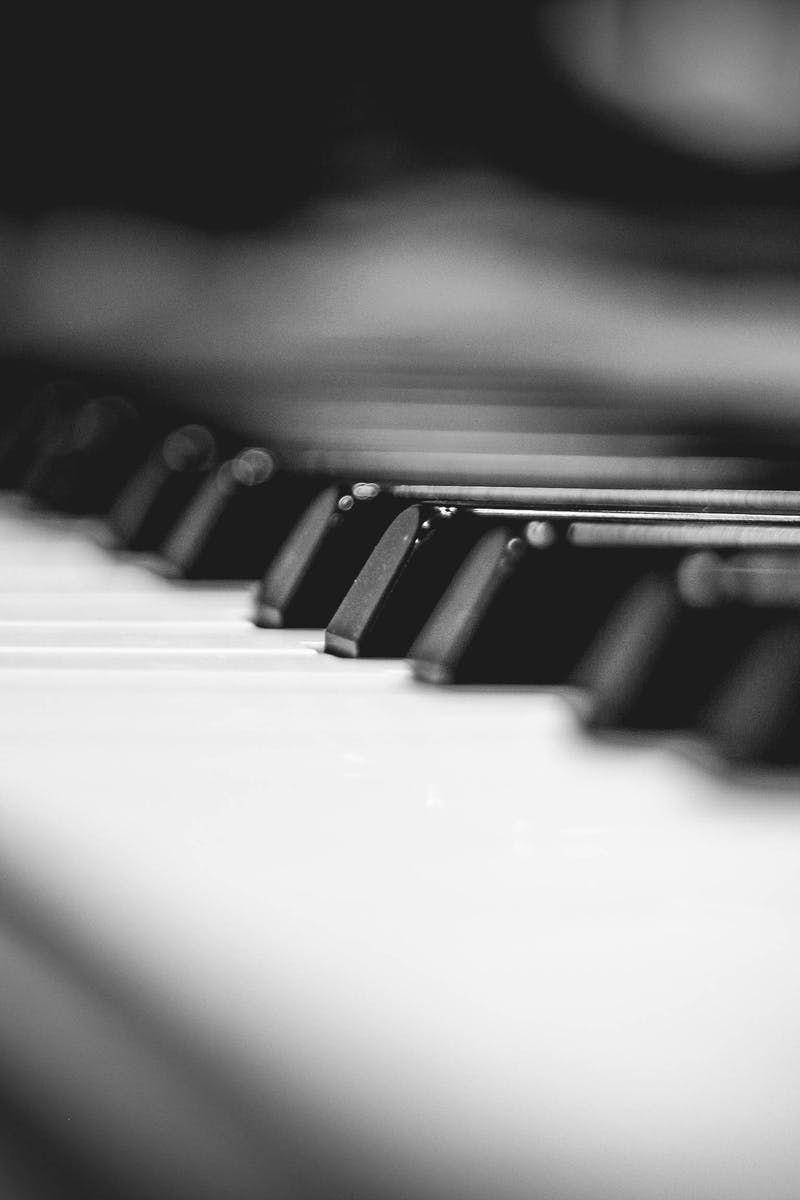 Download Wallpaper 1920x1080 Piano Keys Macro Musical Instrument Full Hd Hdtv Fhd 1080p Hd Background