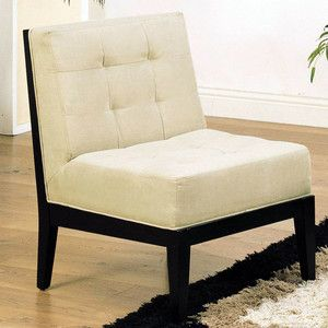 Best Dupont Armless Chair Beige Now Featured On Fab Love Love 400 x 300