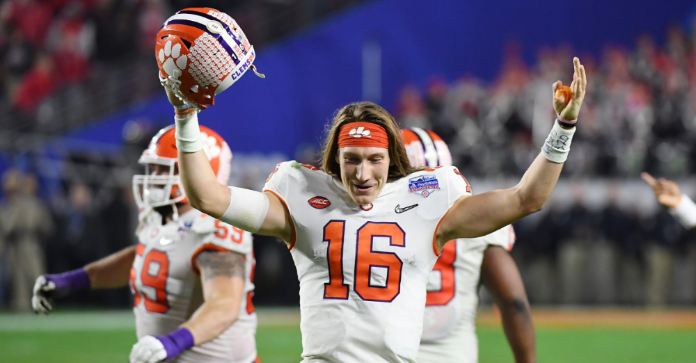 Clemson QB Trevor Lawrence Quotes Ephesians 320 after Win