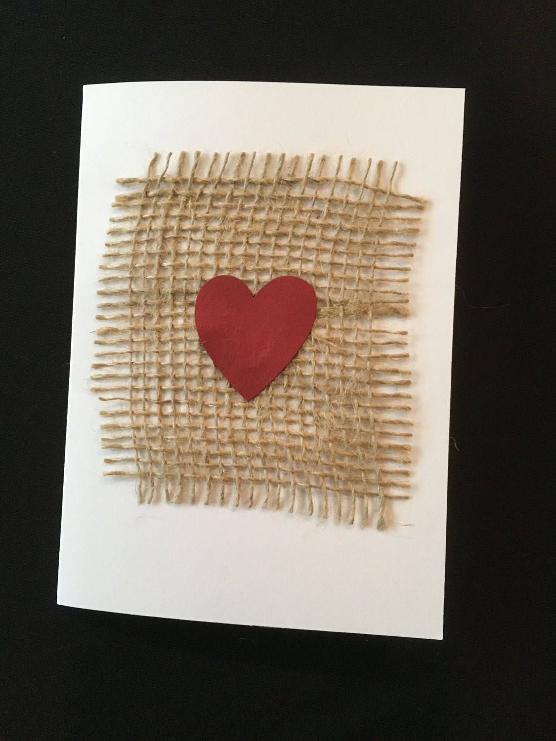 handmade valentine with envelope by theblackcatdesigshop on etsy - Etsy Valentines Cards