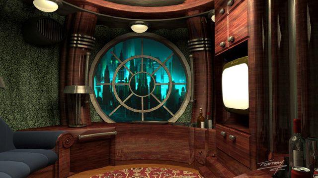 Bioshock Movie Concept Art