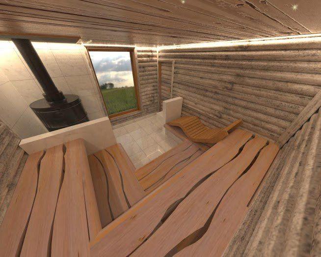 Bildergebnis f r saunalava sauna bastu saunas und id er - Sauna architektur ...