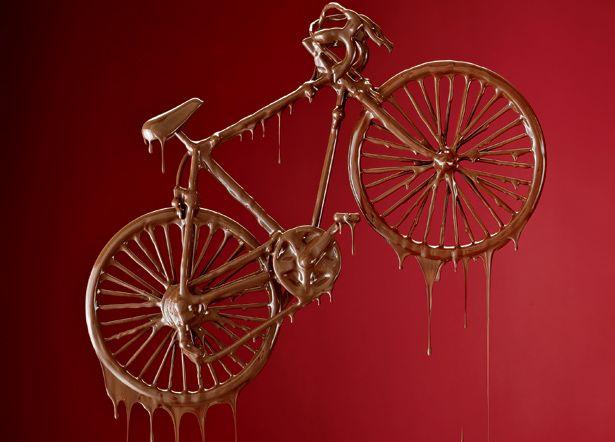 Resultado de imagem para bike de chocolate