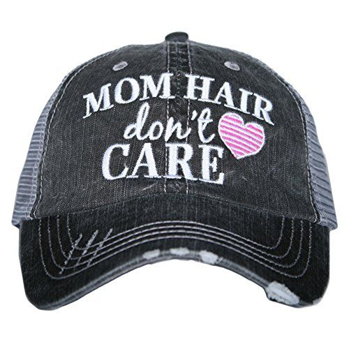 60f0c38d1cc91 The perfect Mom Hair Don t Care Women s Trucker Hats Caps by Katydid.    19.95 - 22.95  offerdressforyou from top store