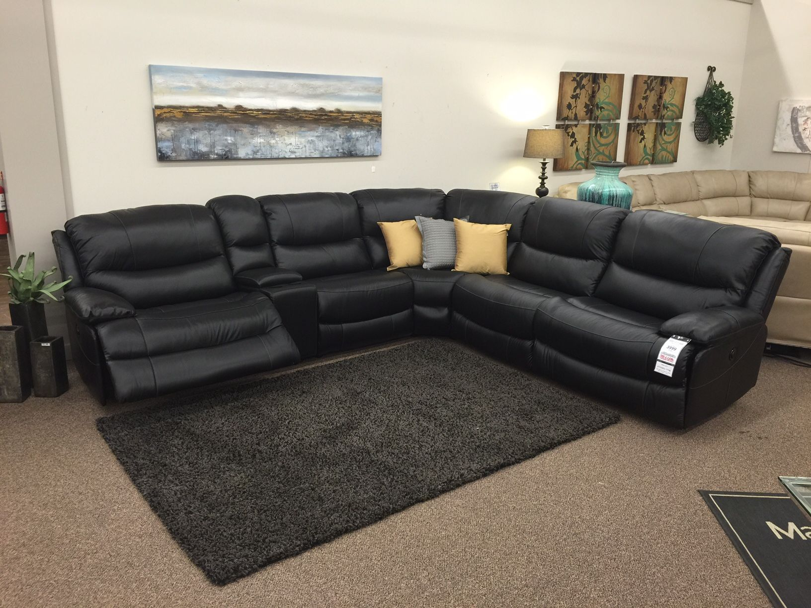 The Chaz just arrived as a Power Reclining Sectional & a Power