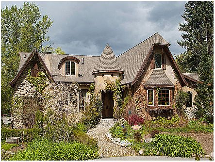 english fairy tale cottage houses pinterest. Black Bedroom Furniture Sets. Home Design Ideas