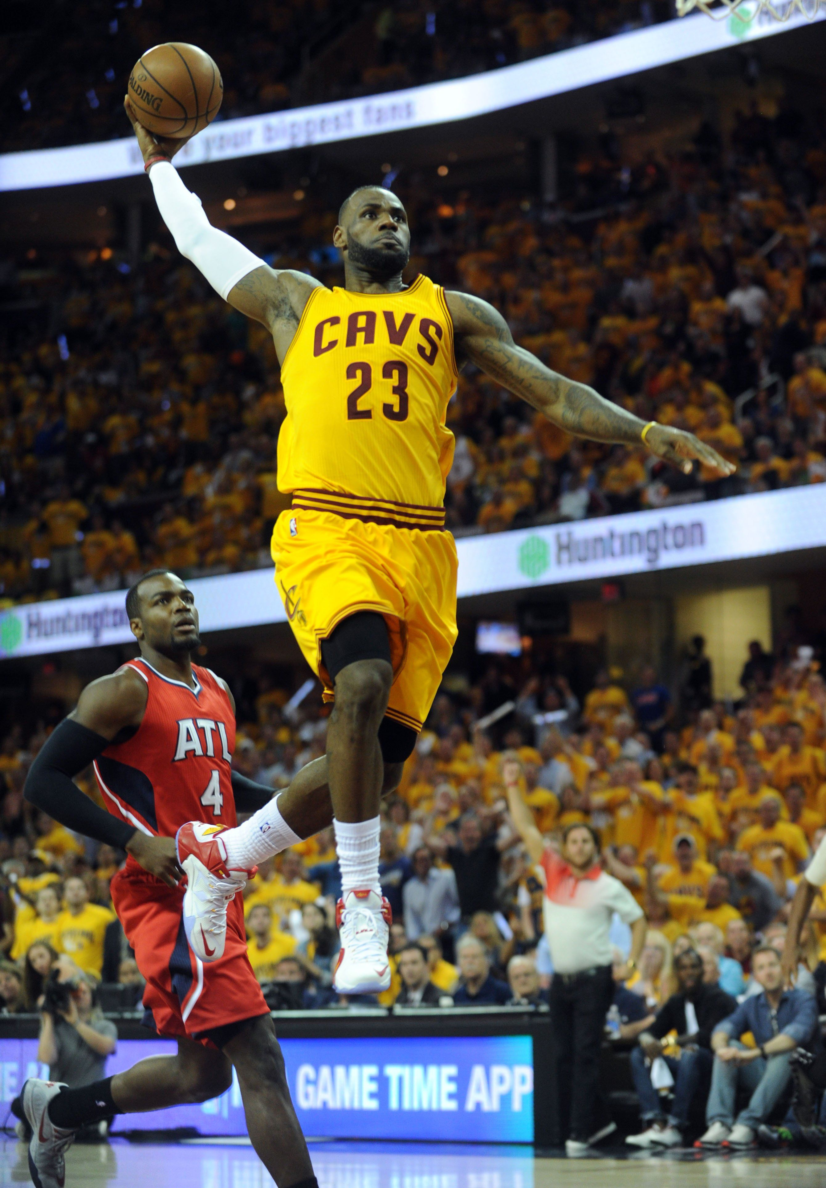 Cavs finish sweep of Hawks with ease, land 1st Finals ...