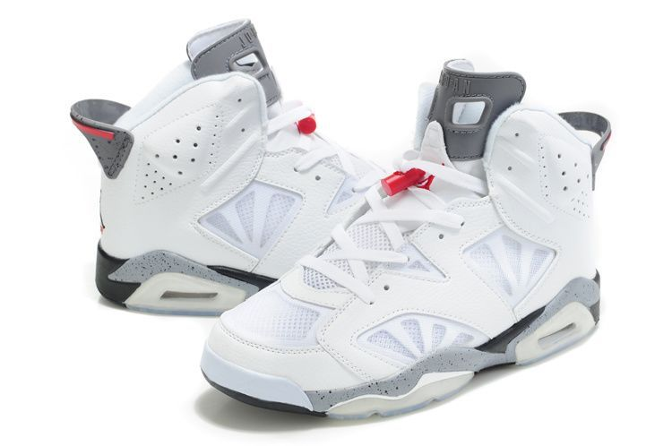 buy popular 37e12 ef35a Latest Air Jordan 6 (VI) Retro Mesh White Black Cement