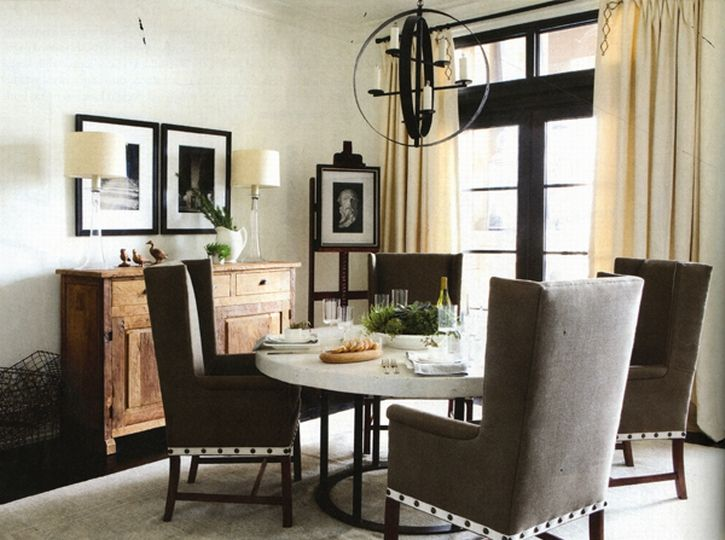 Wingback Dining Room Chairs | Dining Room Chairs | Dining ...