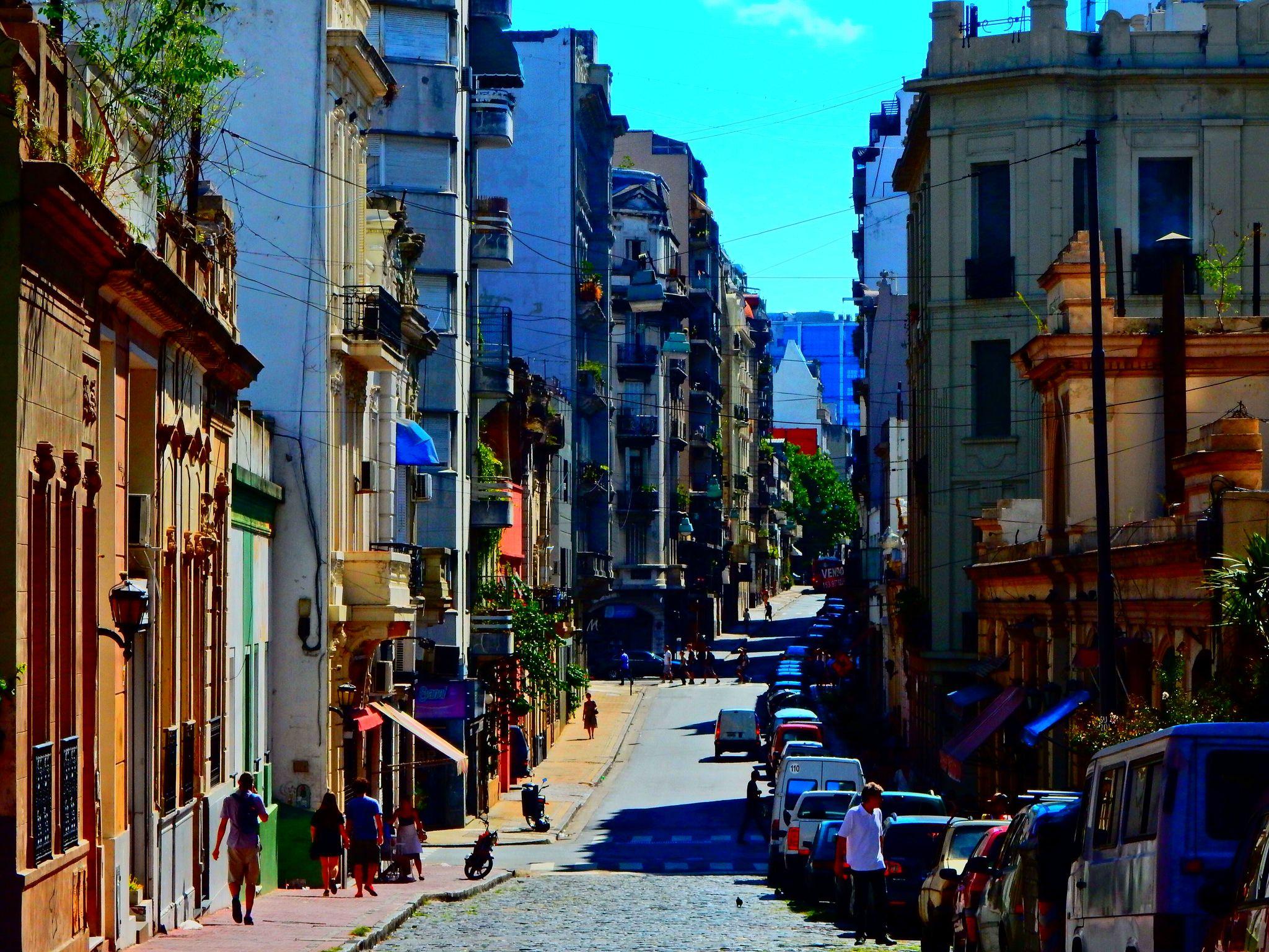 Calle Carlos Calvo San Telmo Bueos Aires Havana Cuba Cuba Street View