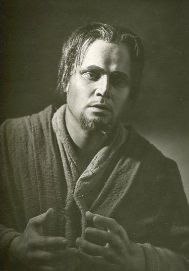 Dietrich Fischer-Dieskau as Amfortas in Wagner's Parsifal Bayreuther Festspiele 1952