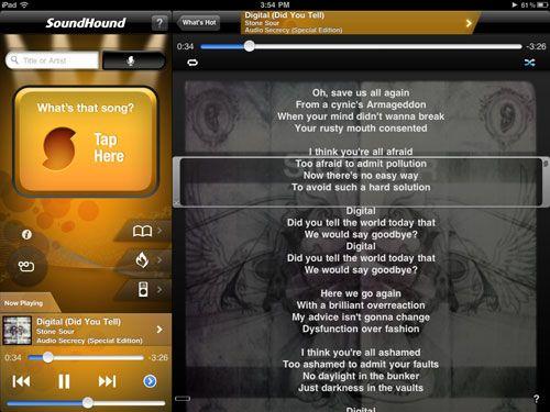 Encuentra tus canciones con SoundHound - Programas gratis