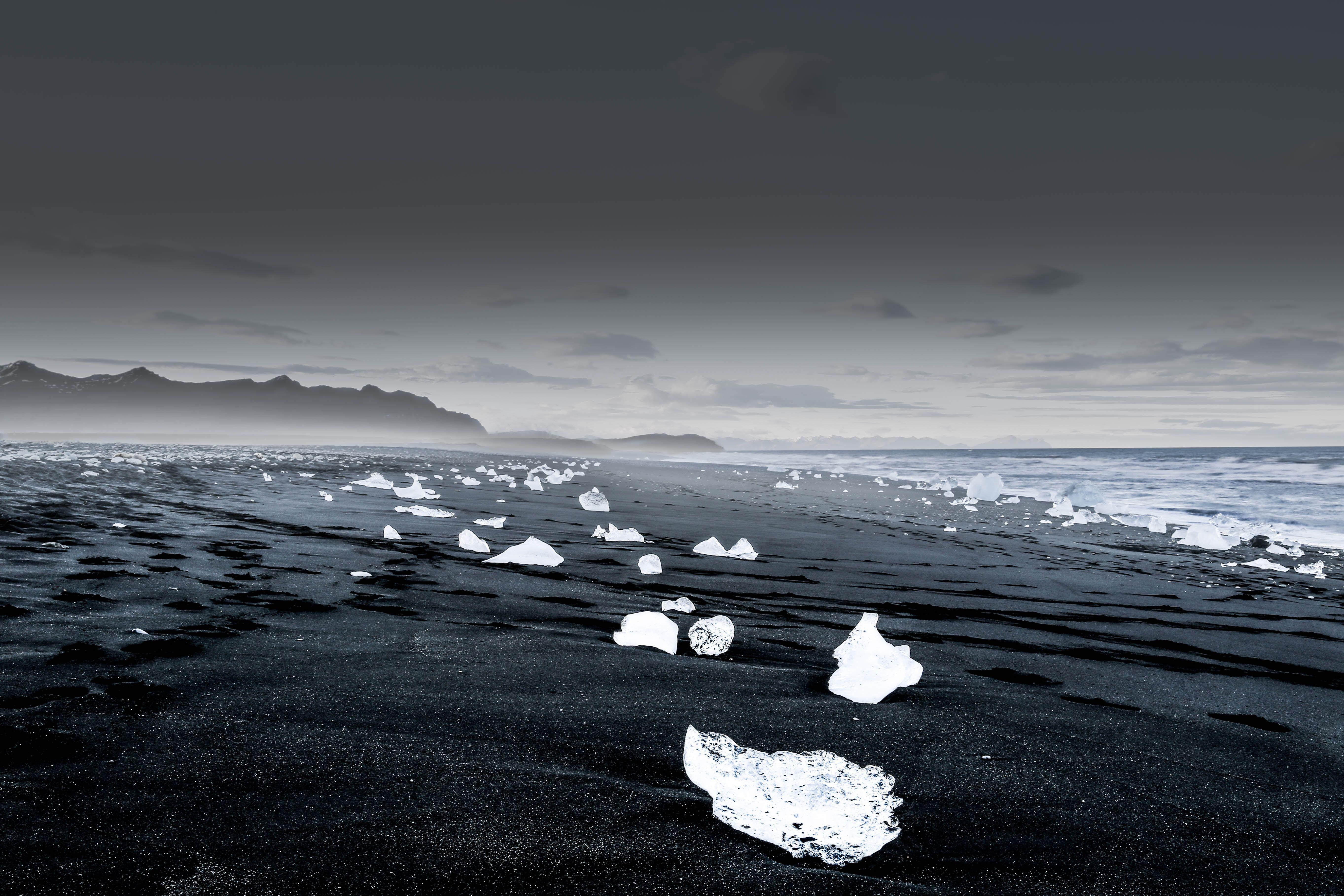 Landscape Photography Of Icebergs Iceland Landscape Desktop Background Images Landscape Photography
