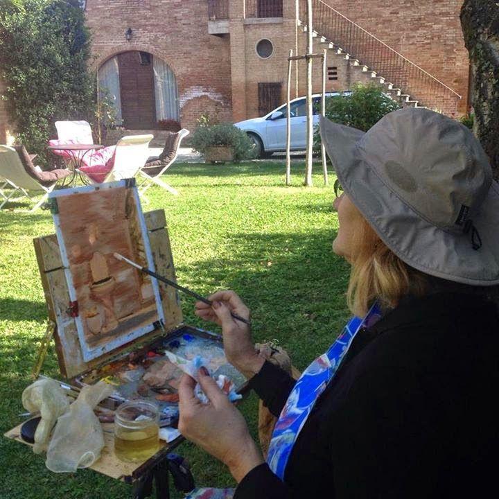 Mary Giacomini's art updates
