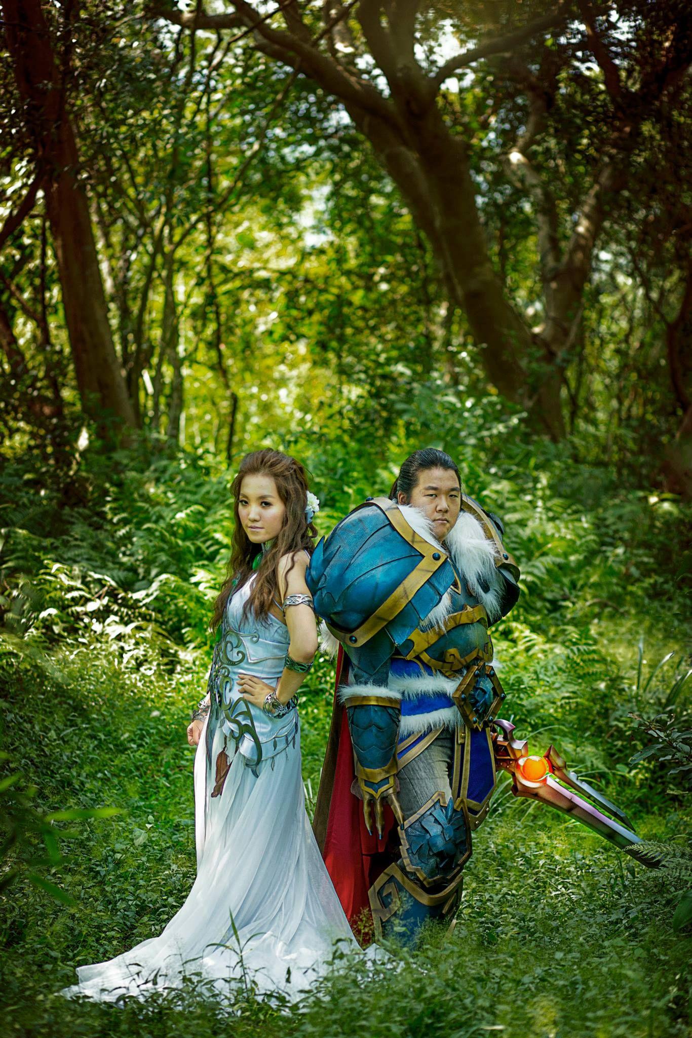 World Of Warcraft Cosplay Wedding World Of Warcraft Warcraft The Incredibles