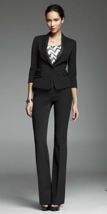 9f6f045ae66 black suit is a staple. Express Black Suit (Classic Office ...