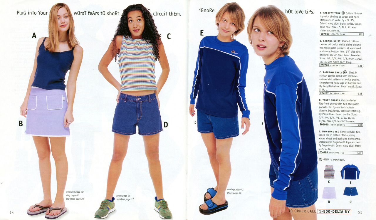 Delias - Spring Break 1998 | Style with Swag | Pinterest ...