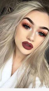 40 Die besten Make-up-Tipps, um jedes Event hübsch aussehen zu lassen #look #beautyh … – Maquillaje