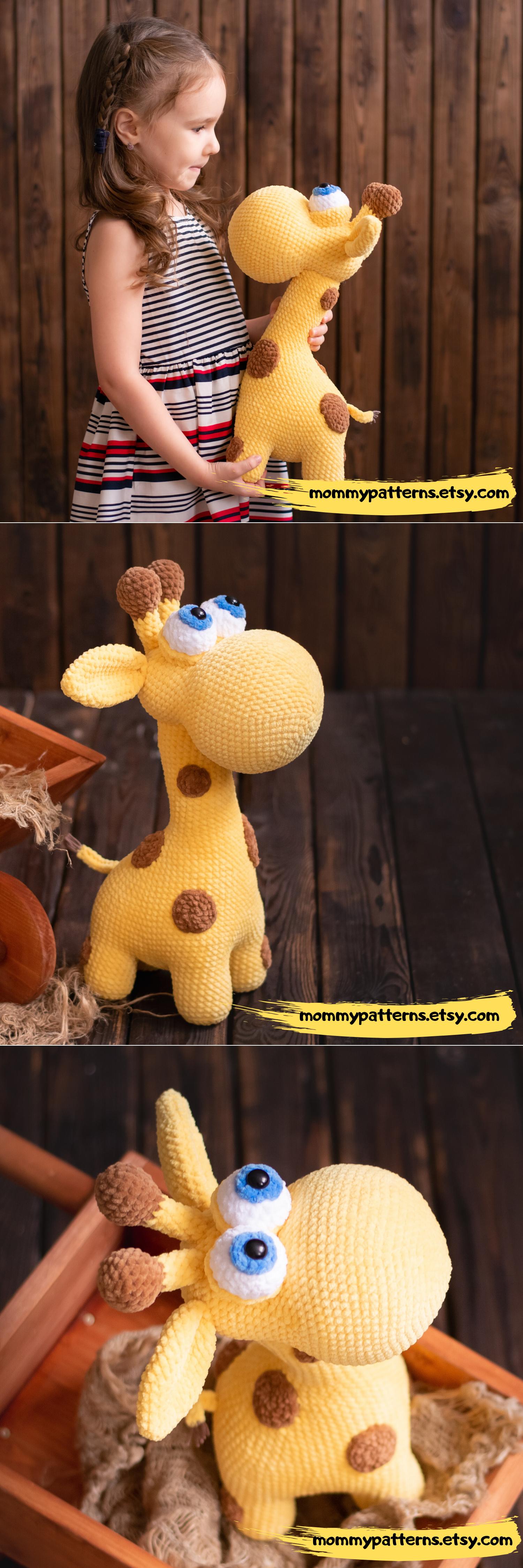 CROCHET PATTERN toy Giraffe