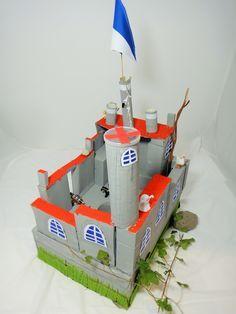 Burg Aus Mull Burg Ritterburg Diy Kinder Basteln Recycling