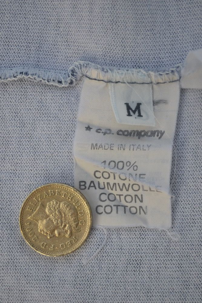 Image Of Vintage 90 S Stone Island Nautical Striped T Shirt Stripe Tshirt Stone Island Cotton